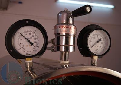 Horizontal Autoclave Steam Sterilizer Rectangular